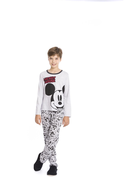 Pijama Infantil e Juvenil Menino Disney - Tamanho 4 ao 16