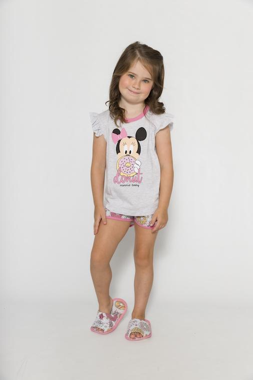 Pijama Infantil Menina Disney (Produto Oficial) - Tamanho 1 ao 10