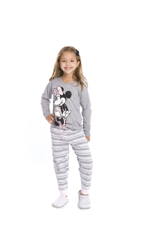 Pijama Infantil Menina Disney - Tamanho 4 ao 10