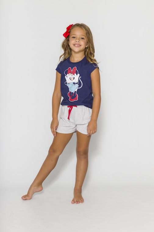 Pijama Infantil Menina Mãe e Filha Disney (Produto Oficial) - Tamanho 4 ao 10