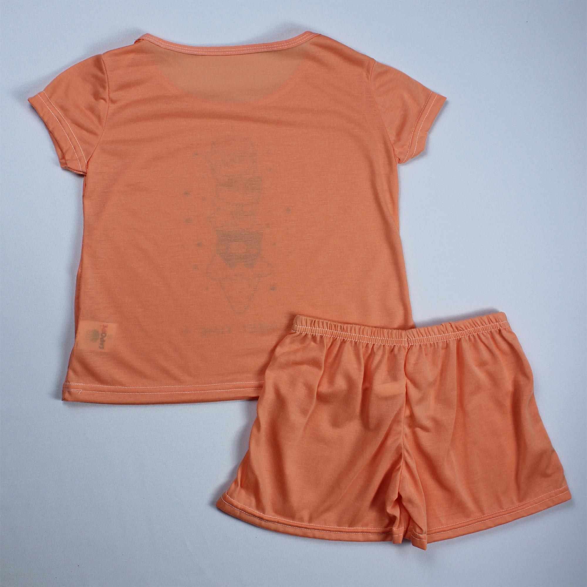 Pijama Infantil Menina - Tamanho 10