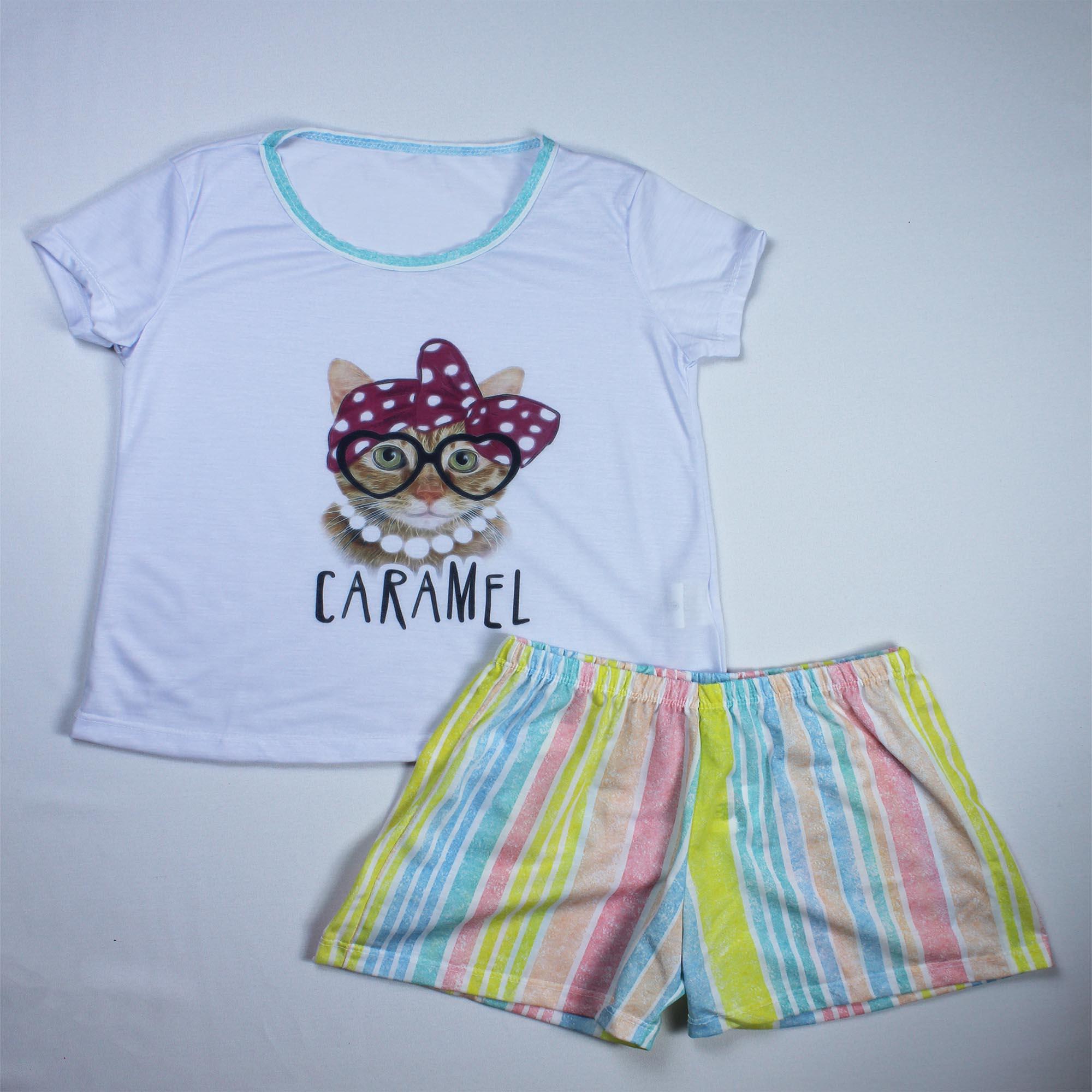 Pijama Infantil Menina - Tamanho 12