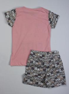 Pijama Infantil Menina - Tamanho 4 ao 8