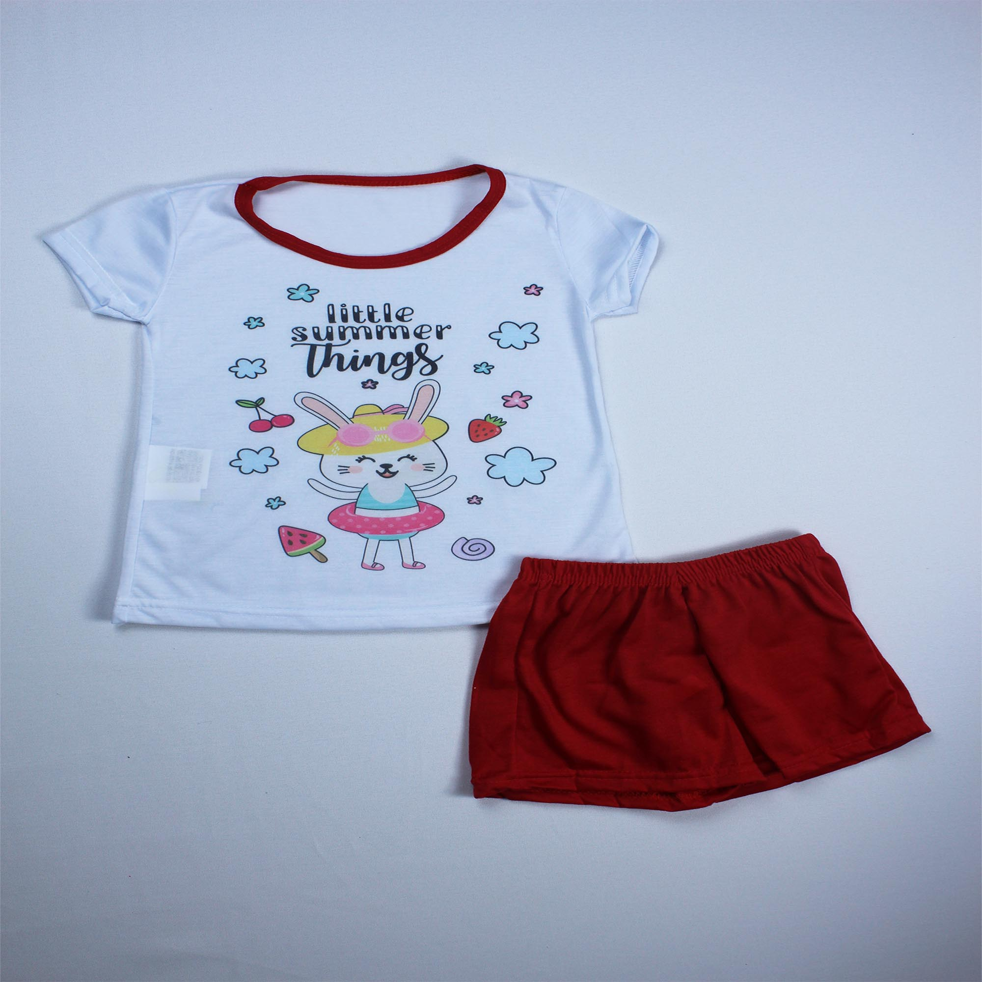Pijama Infantil Menina - Tamanho 4 e 6