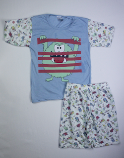 Pijama Infantil Menino - Tamanho 10 ao 14