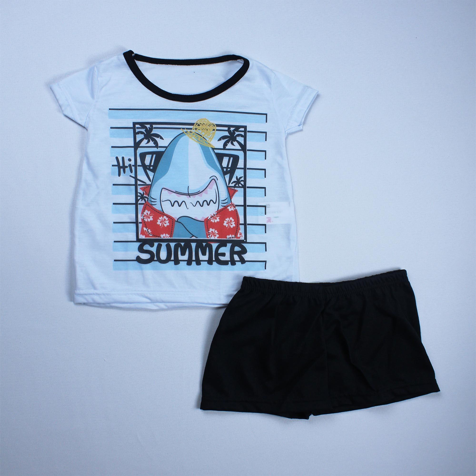 Pijama Infantil Menino - Tamanho 4