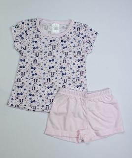 Pijama Infantil Menina - Tamanho 1 e 2