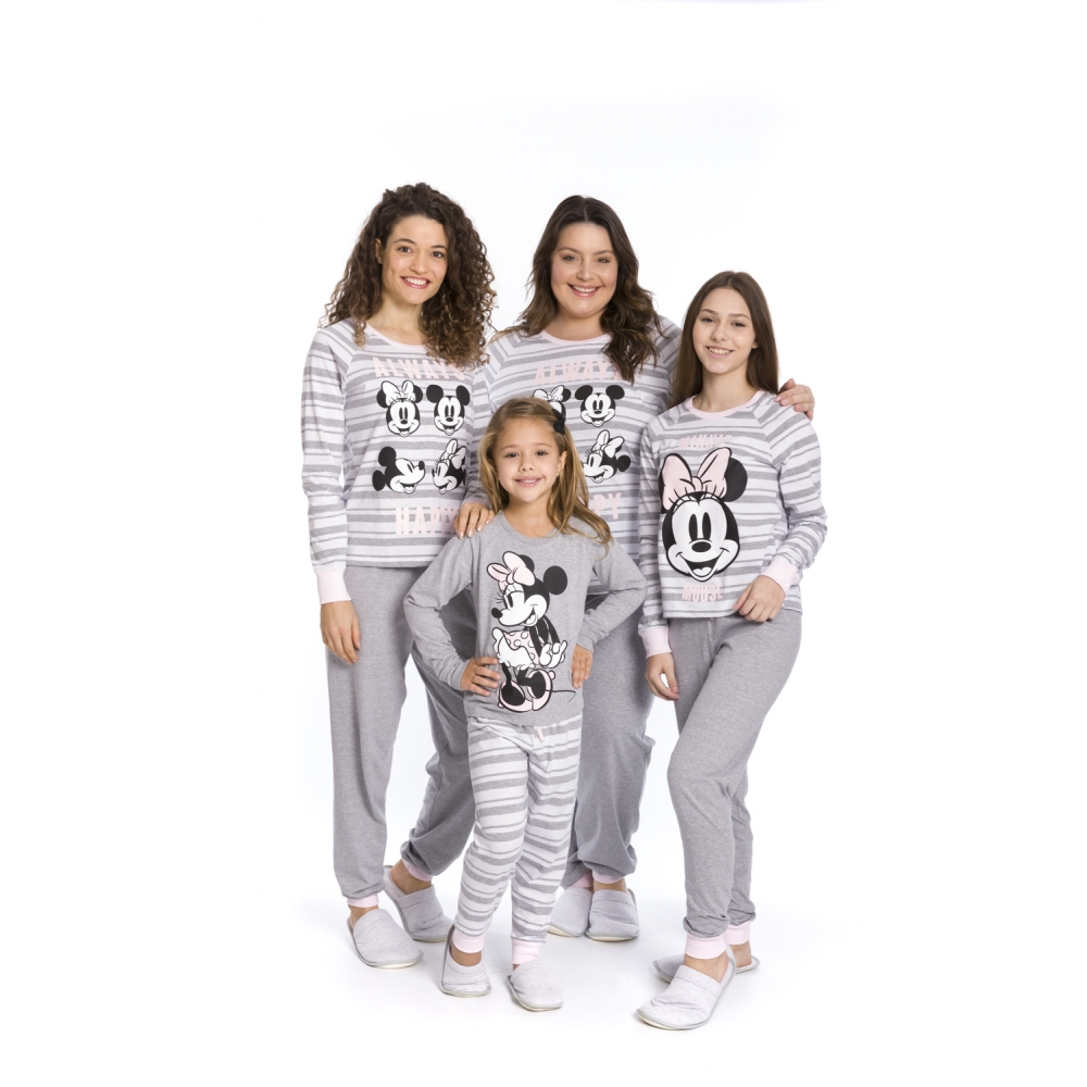 Pijama Juvenil Menina Disney - Tamanho 12 ao 16