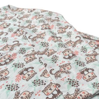Pijama Manga Longa infantil Menina - Tamanho 6