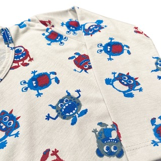 Pijama Manga Longa infantil Menino - Tamanho 1