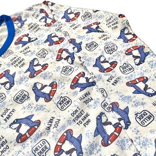 Pijama Manga Longa infantil Menino - Tamanho 2 e 4