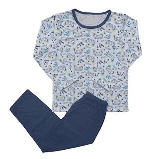 Pijama Manga Longa infantil Menino - Tamanho 6
