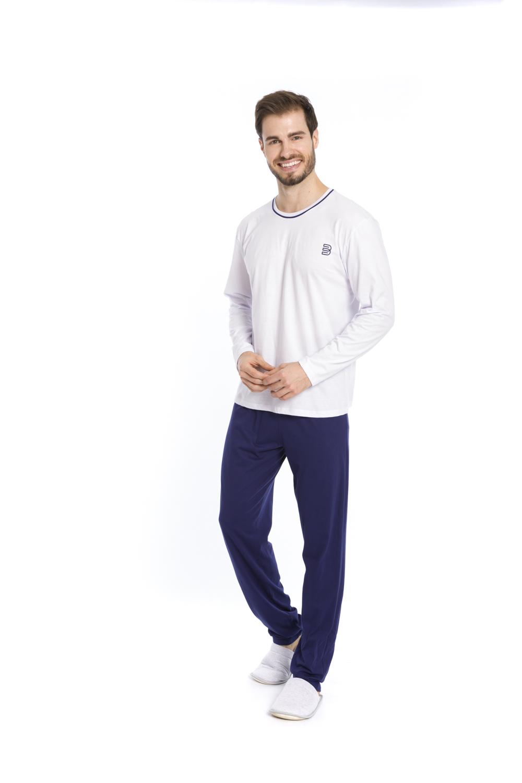 Pijama Masculino Borth Basic - Tamanho P ao GG