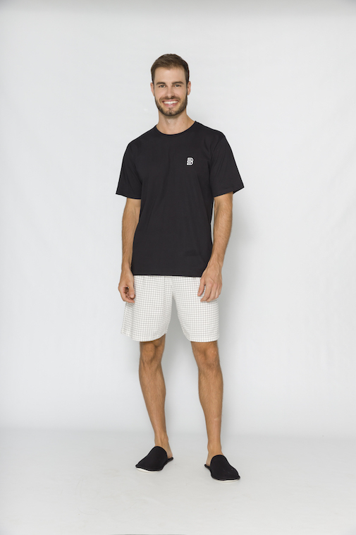 Pijama Masculino Borth - Tamanho P ao G3