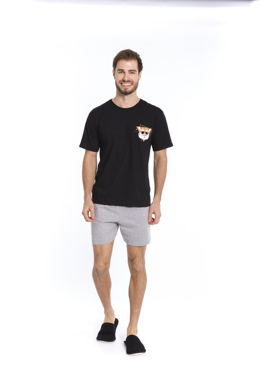 Pijama Masculino Cool Tiger - Tamanho P ao GG