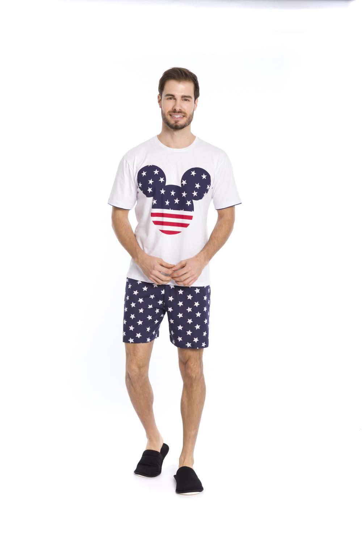 Pijama Masculino Disney (Produto Oficial) - Tamanho M ao GG