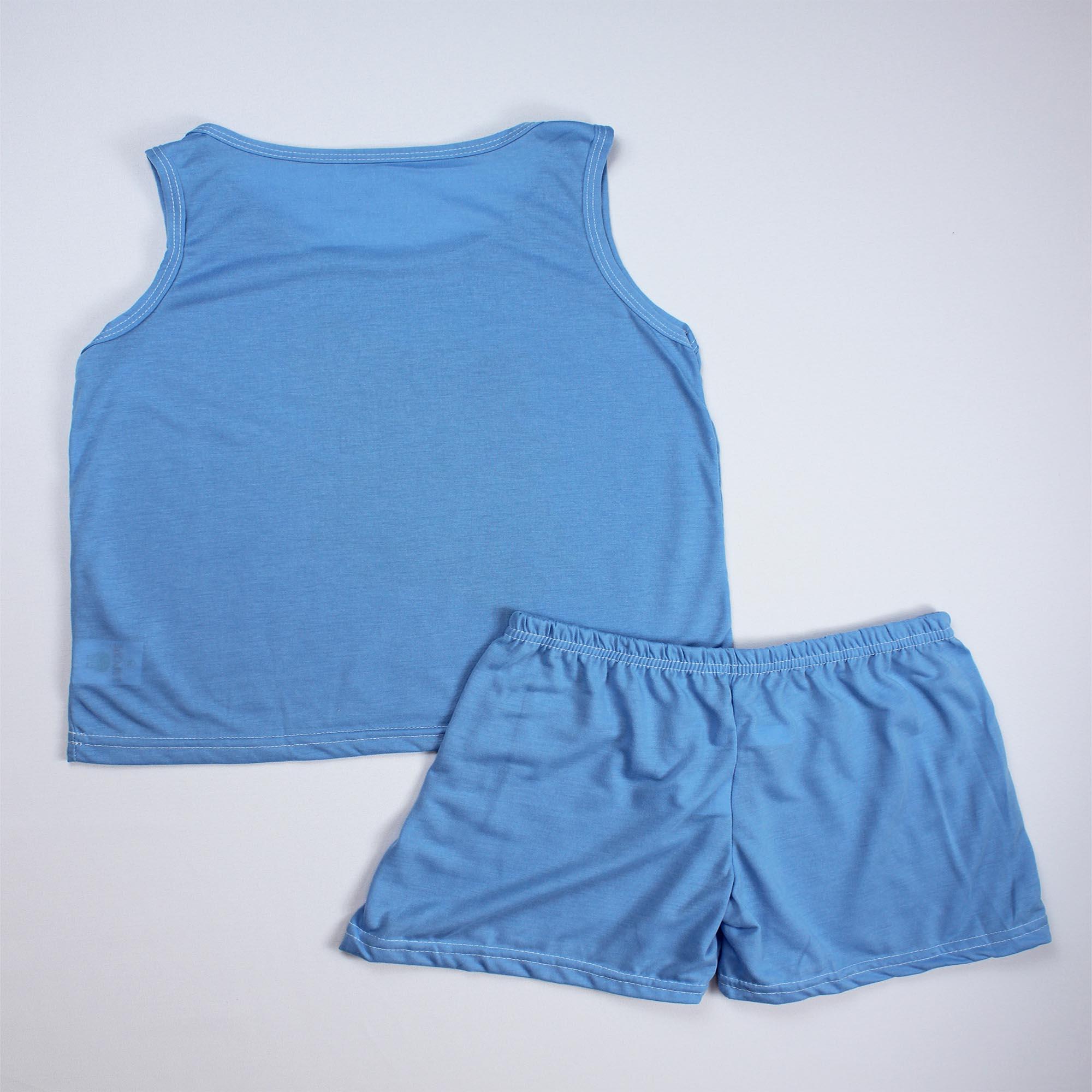Pijama Regata Infantil Menino - Tamanho 12
