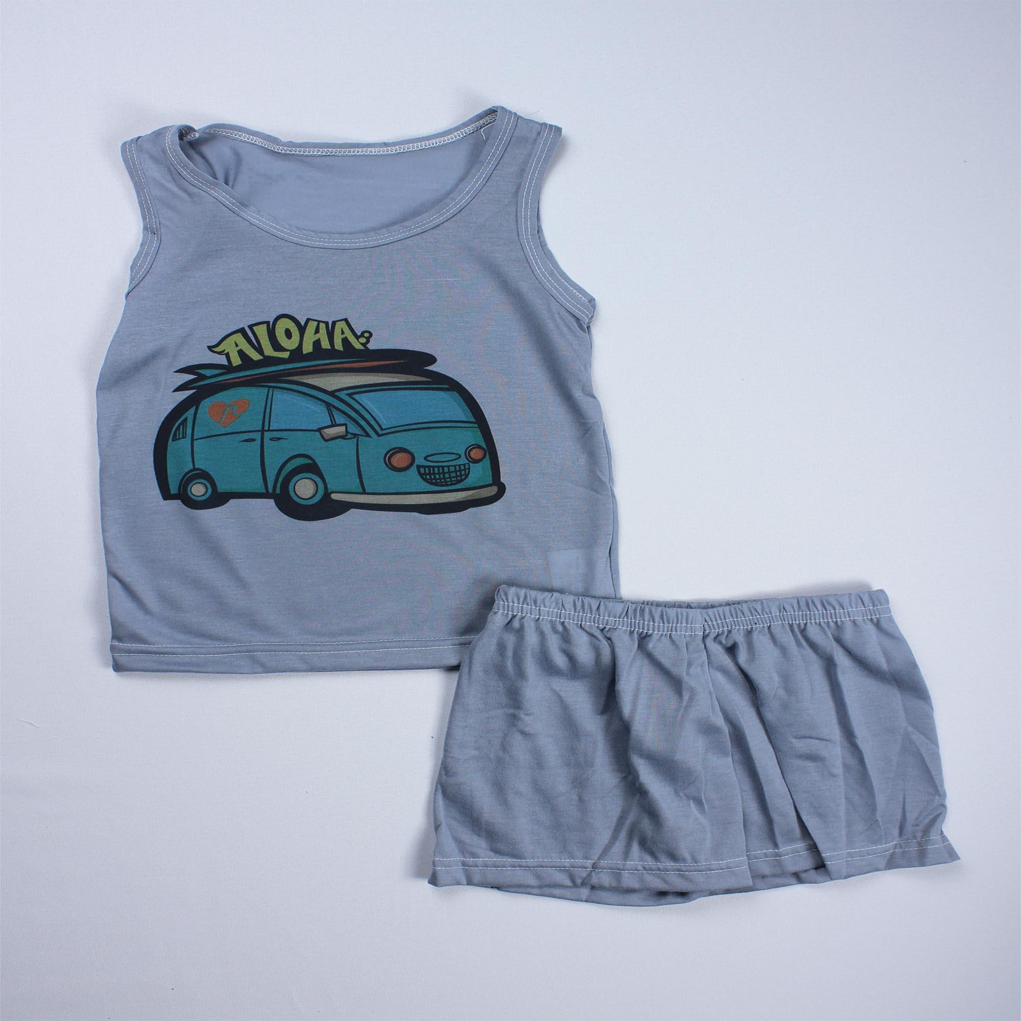 Pijama Regata Infantil Menino - Tamanho 6