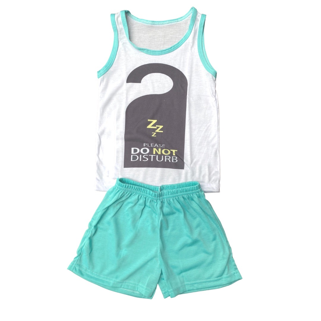 Pijama Regata Infantil Menino - Tamanho 8