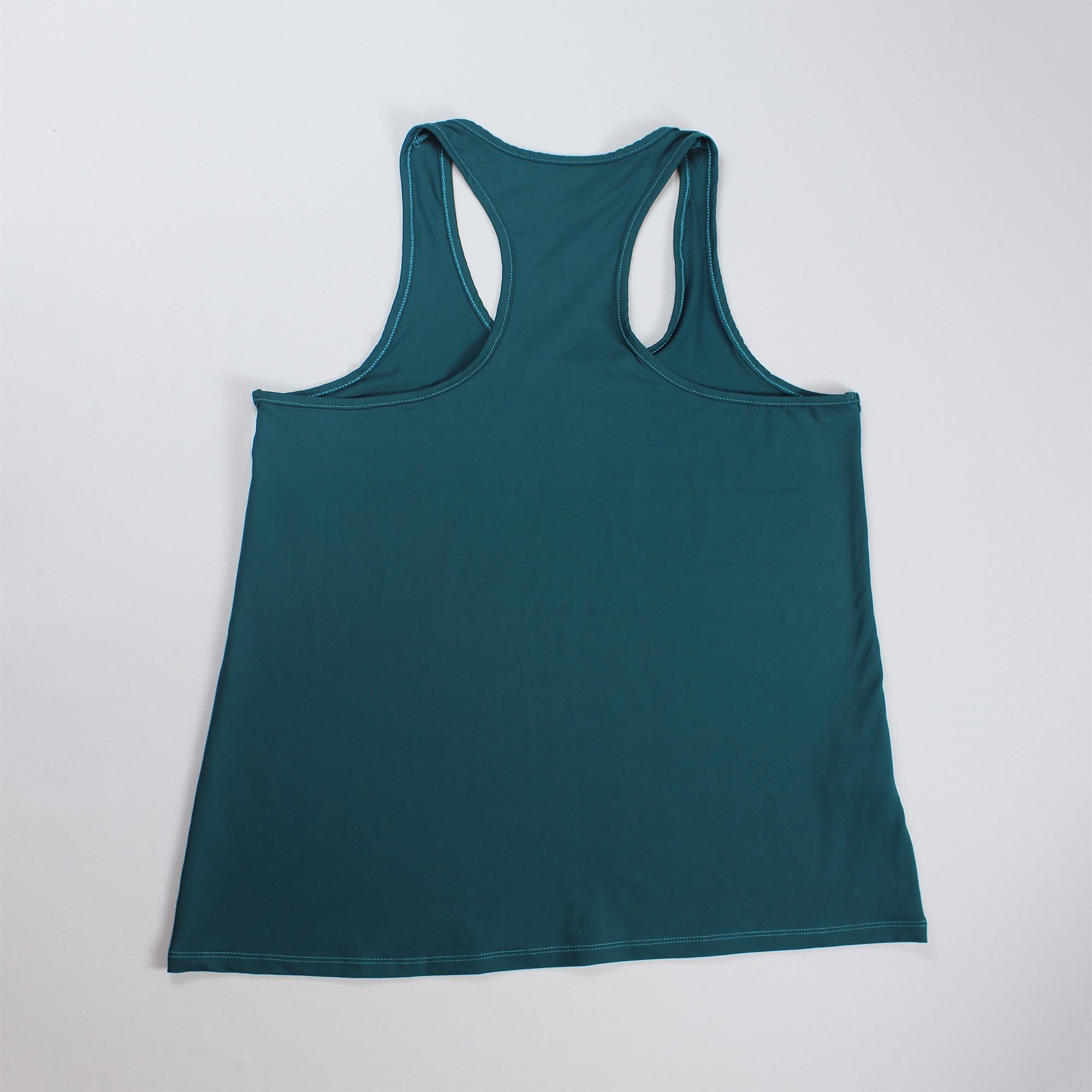 Regata Básica Nadadora Feminina - Verde Petróleo