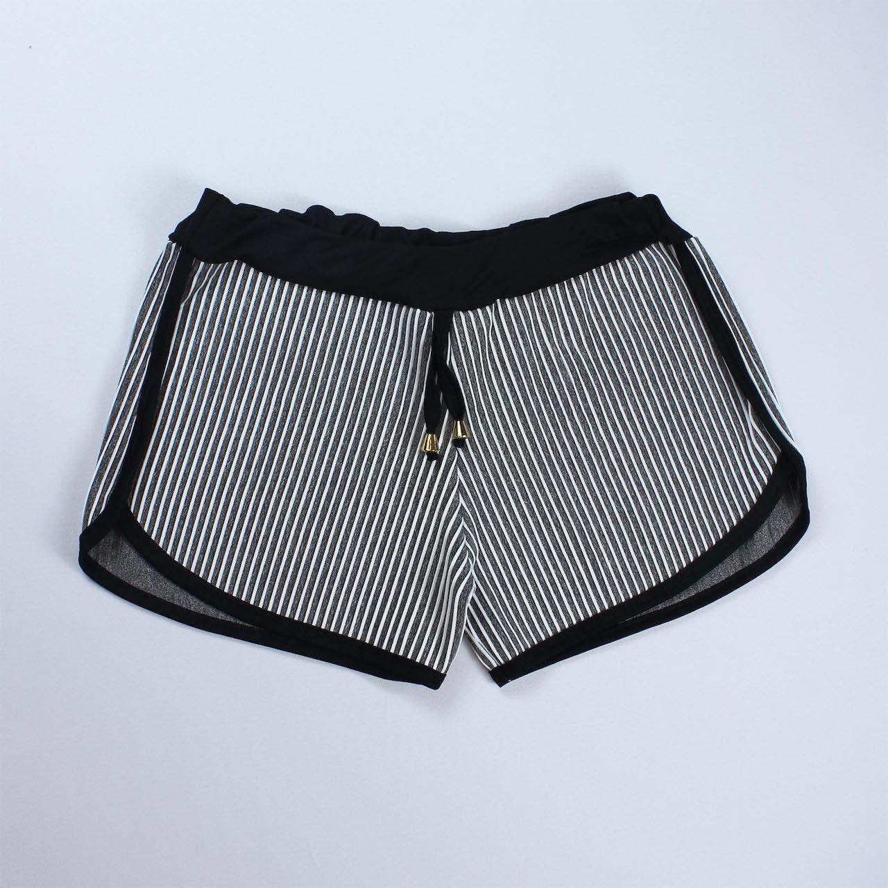 Short 3D Feminino - Cinza