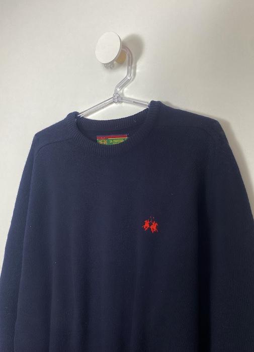 Suéter Azul Marinho Masculino - Tamanho M