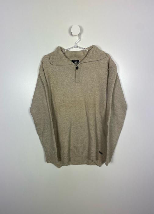 Suéter com Gola Masculino - Tamanho G