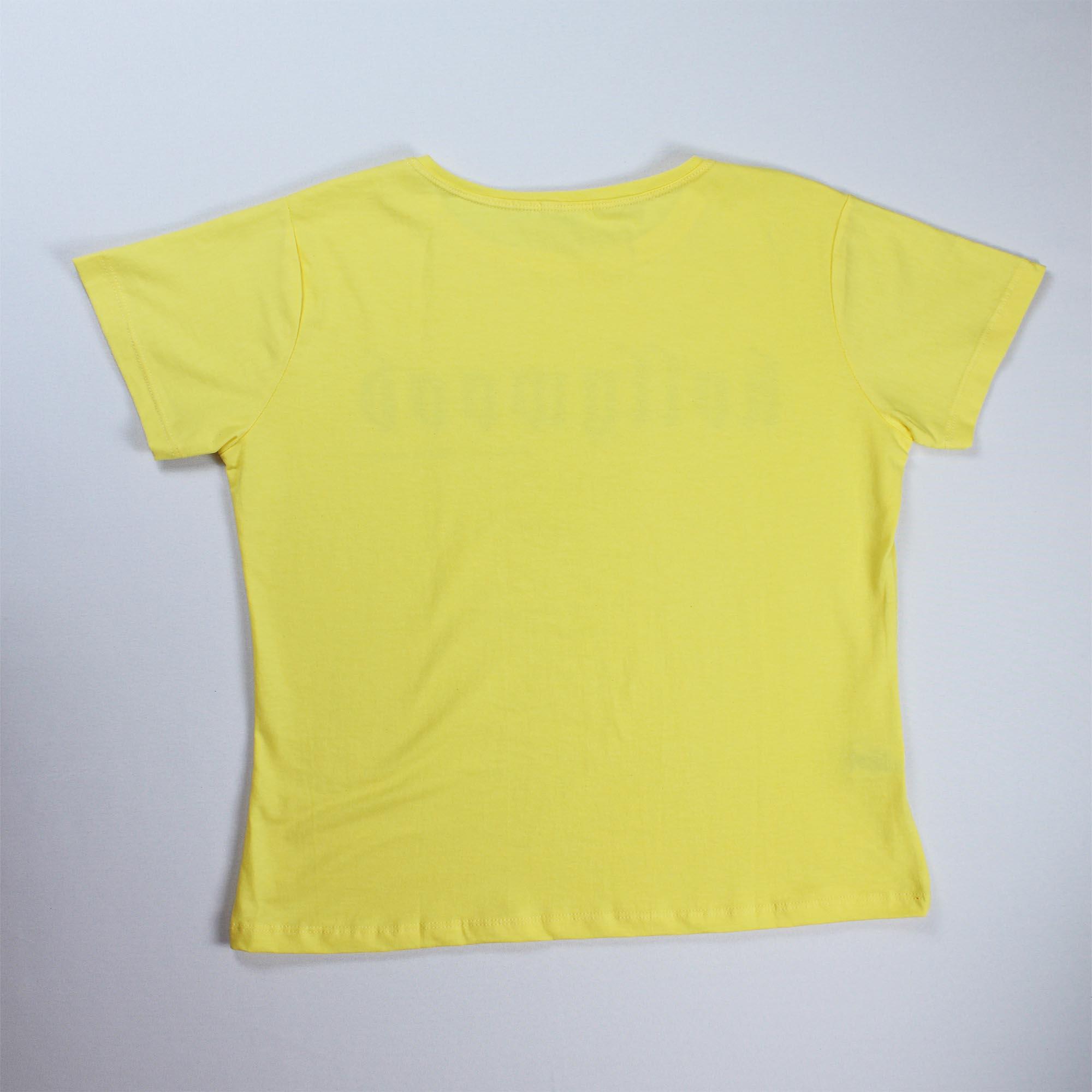 T-Shirt Brooklyn Feminina - Amarela