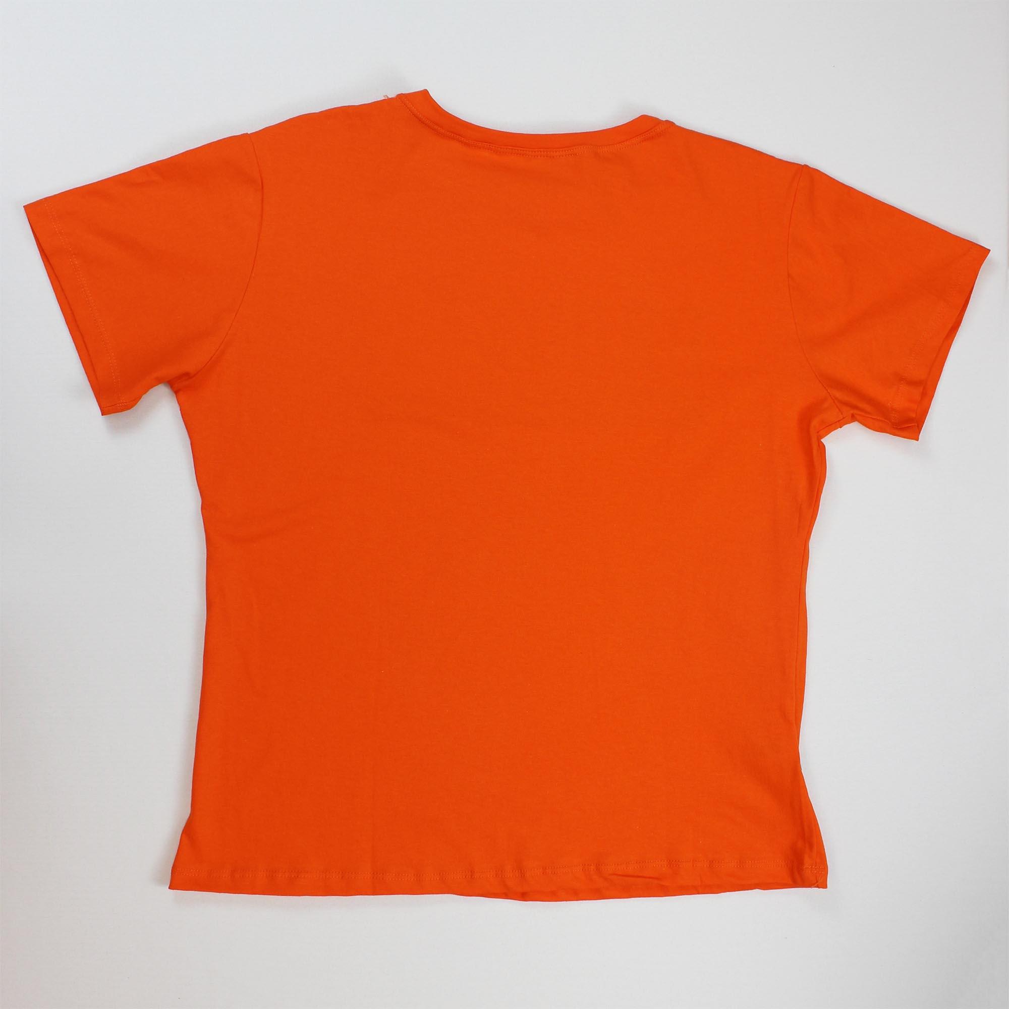 T-Shirt Brooklyn Feminina - Laranja