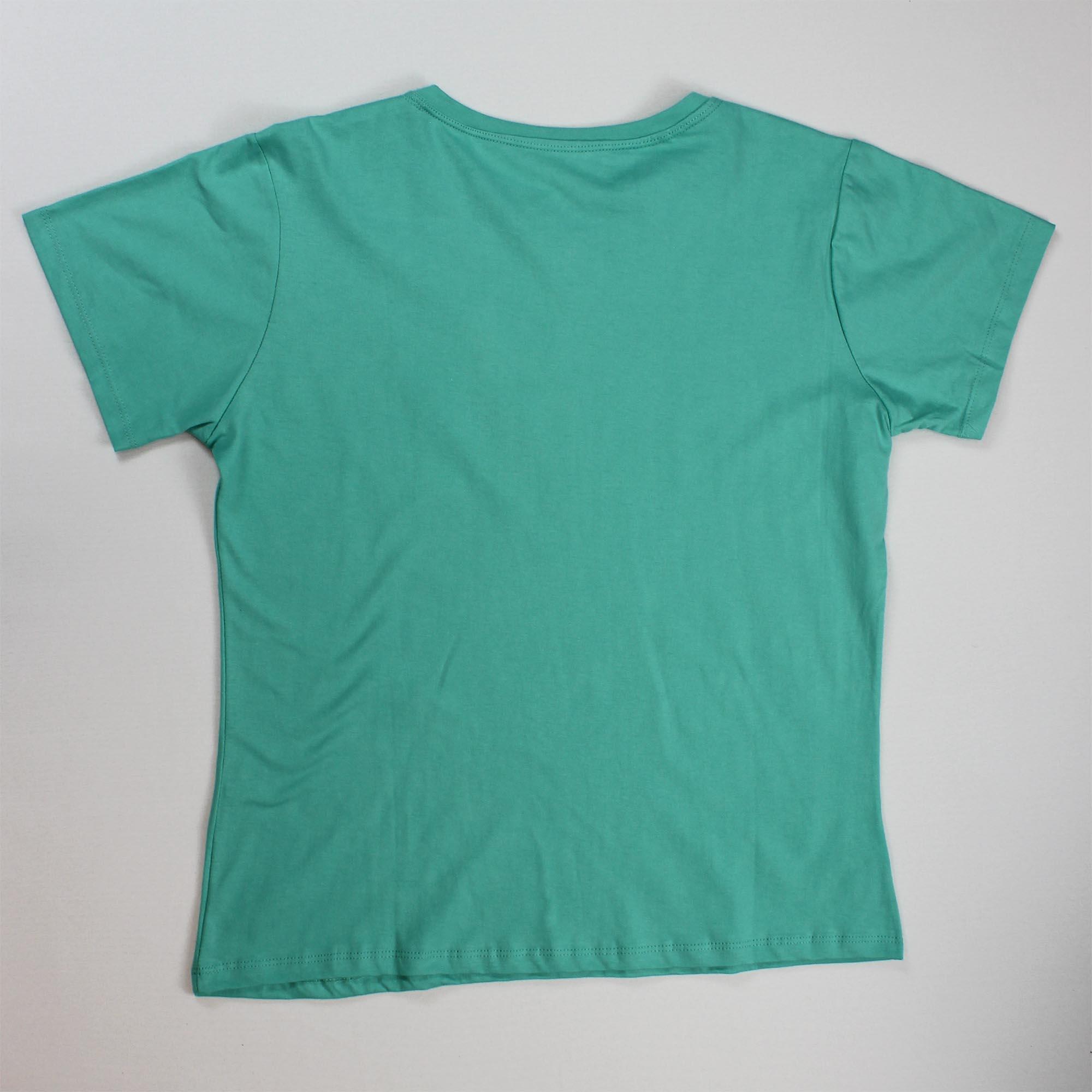 T-Shirt Brooklyn Feminina - Verde Água
