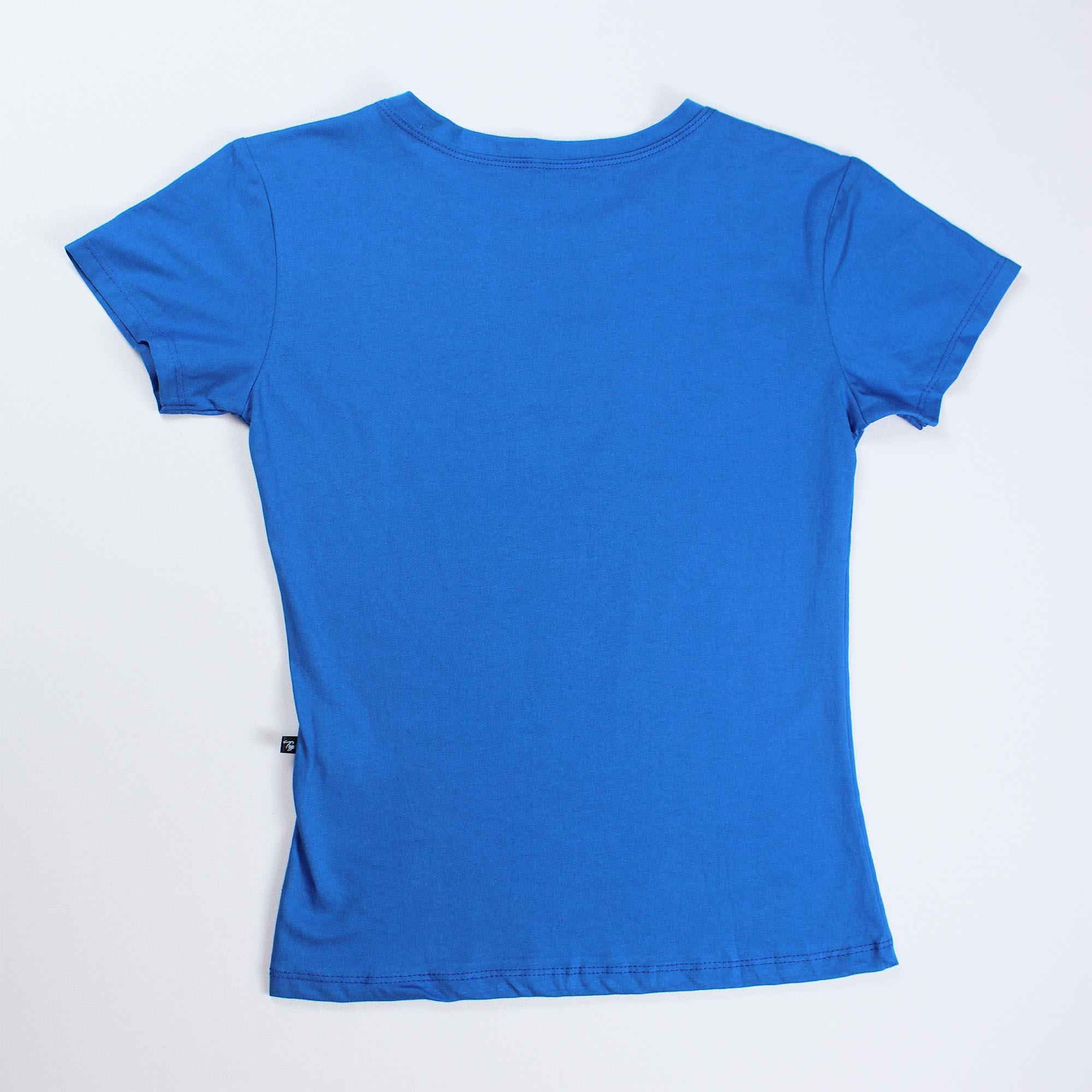 T-Shirt Free Hugs Feminina - Azul