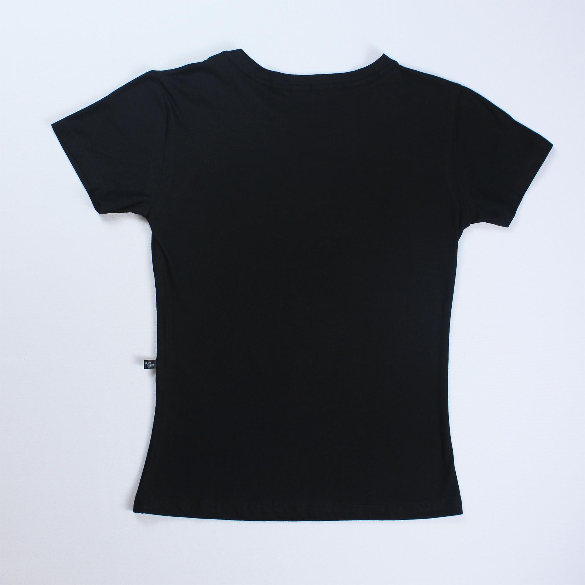 T-Shirt Free Hugs Feminina - Preta