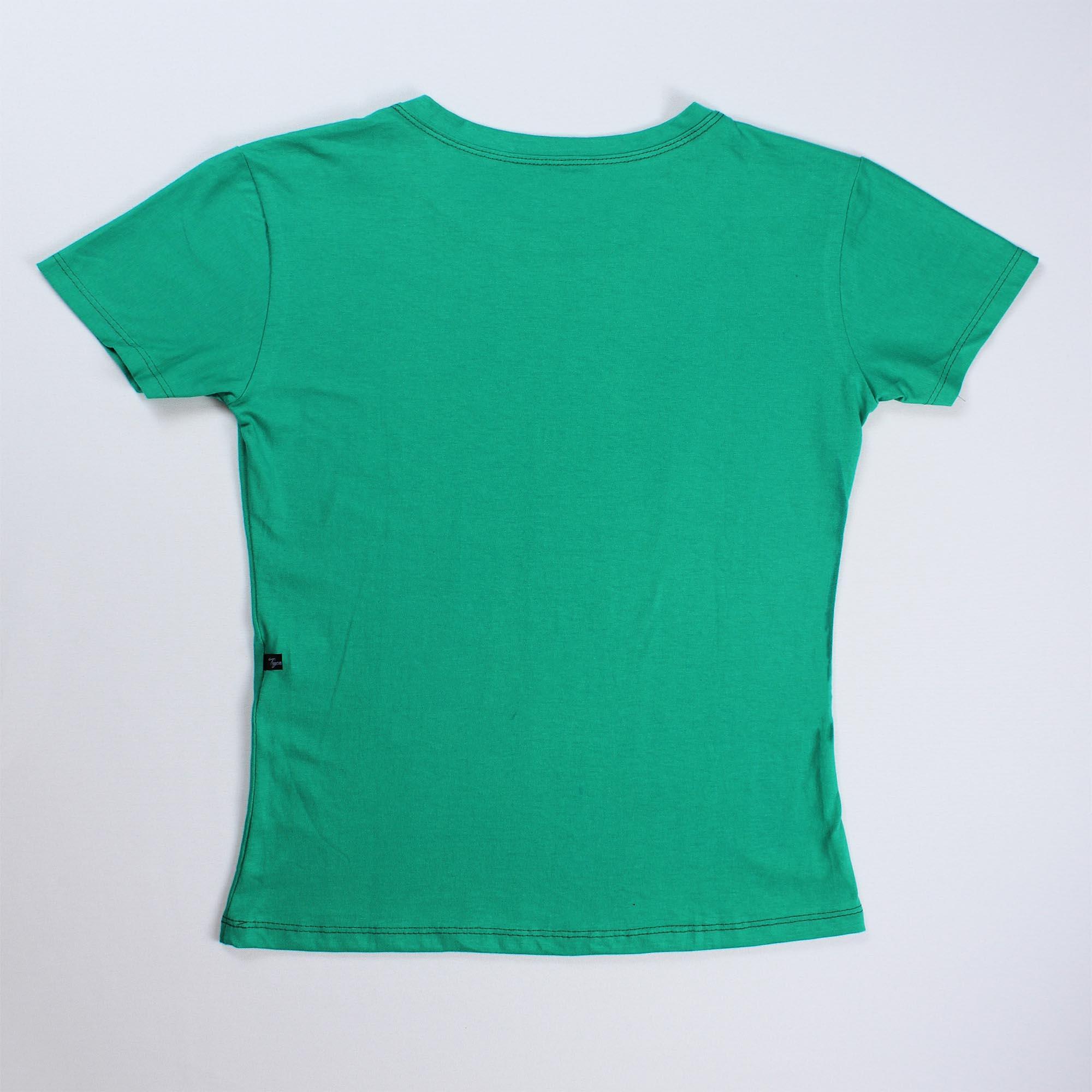 T-Shirt Free Hugs Feminina - Verde