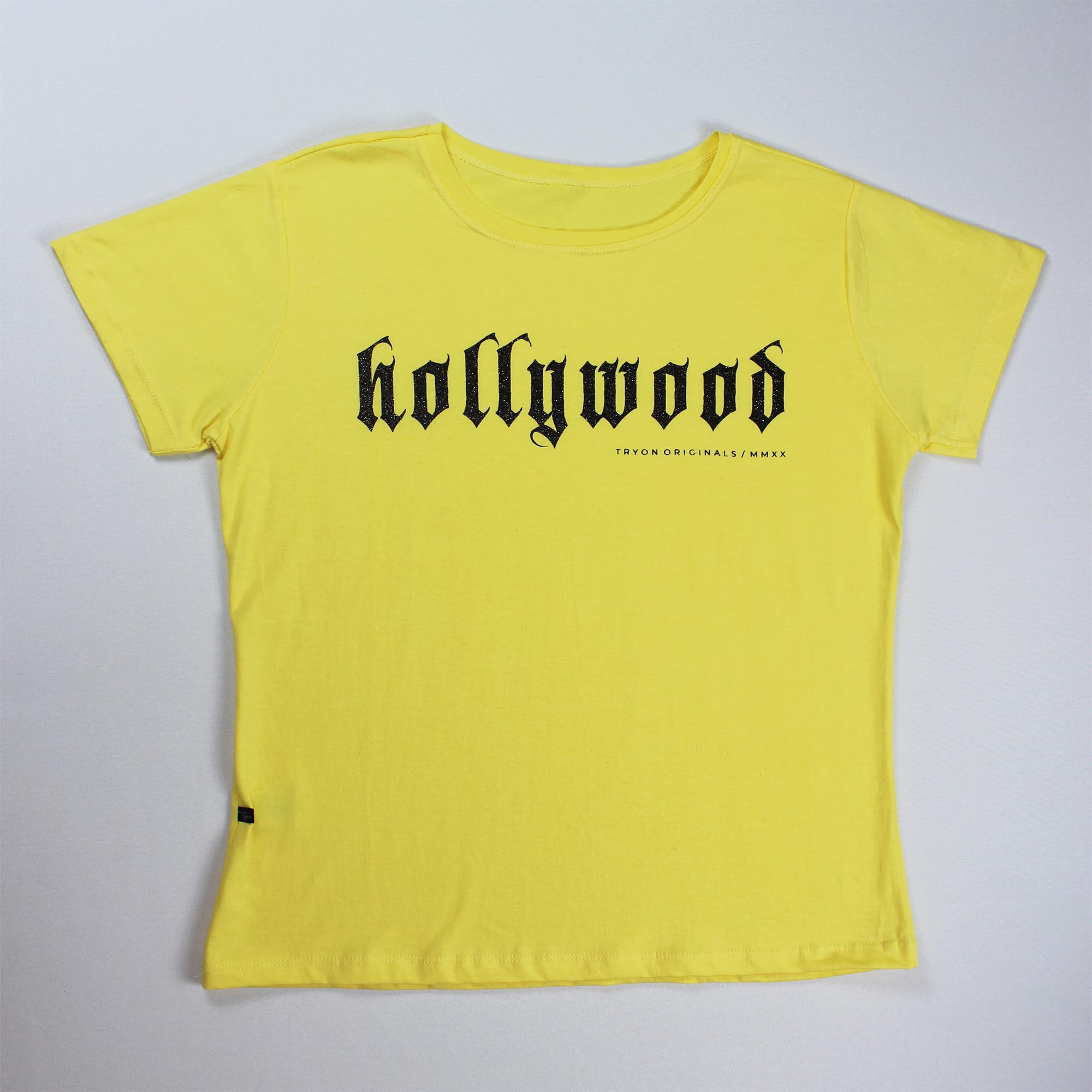 T-Shirt Hollywood Feminina - Amarela