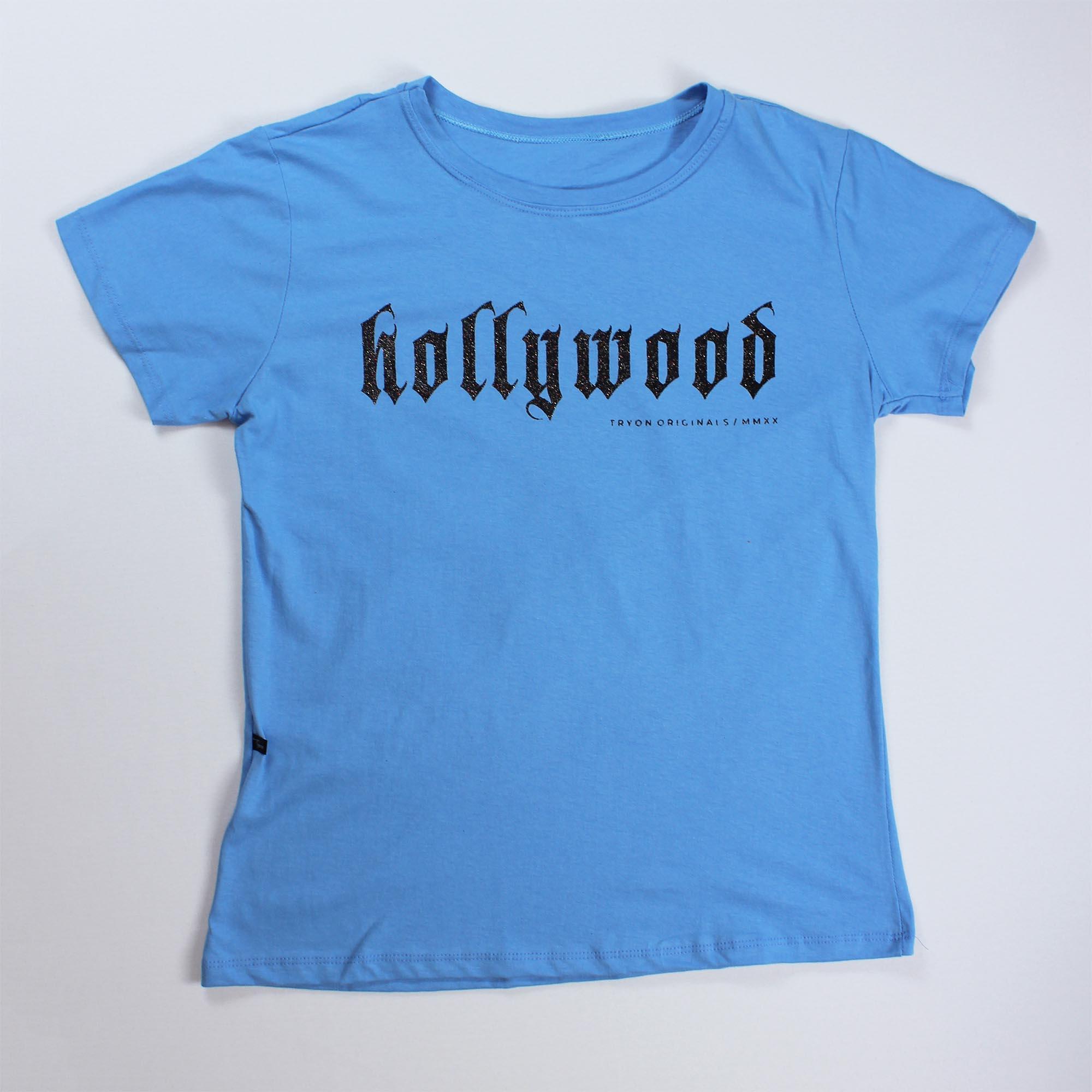 T-Shirt Hollywood Feminina - Azul