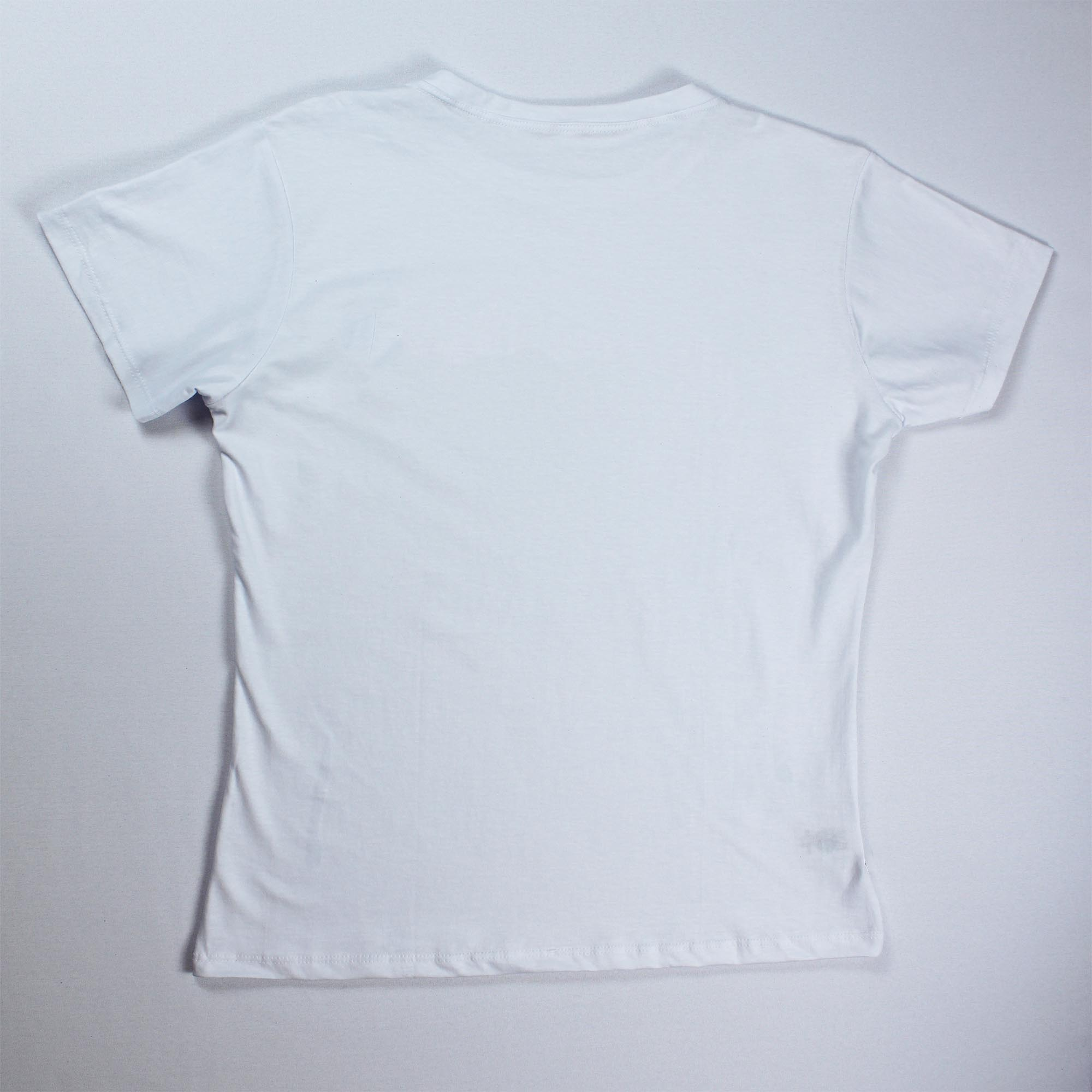 T-Shirt Hollywood Feminina - Branca