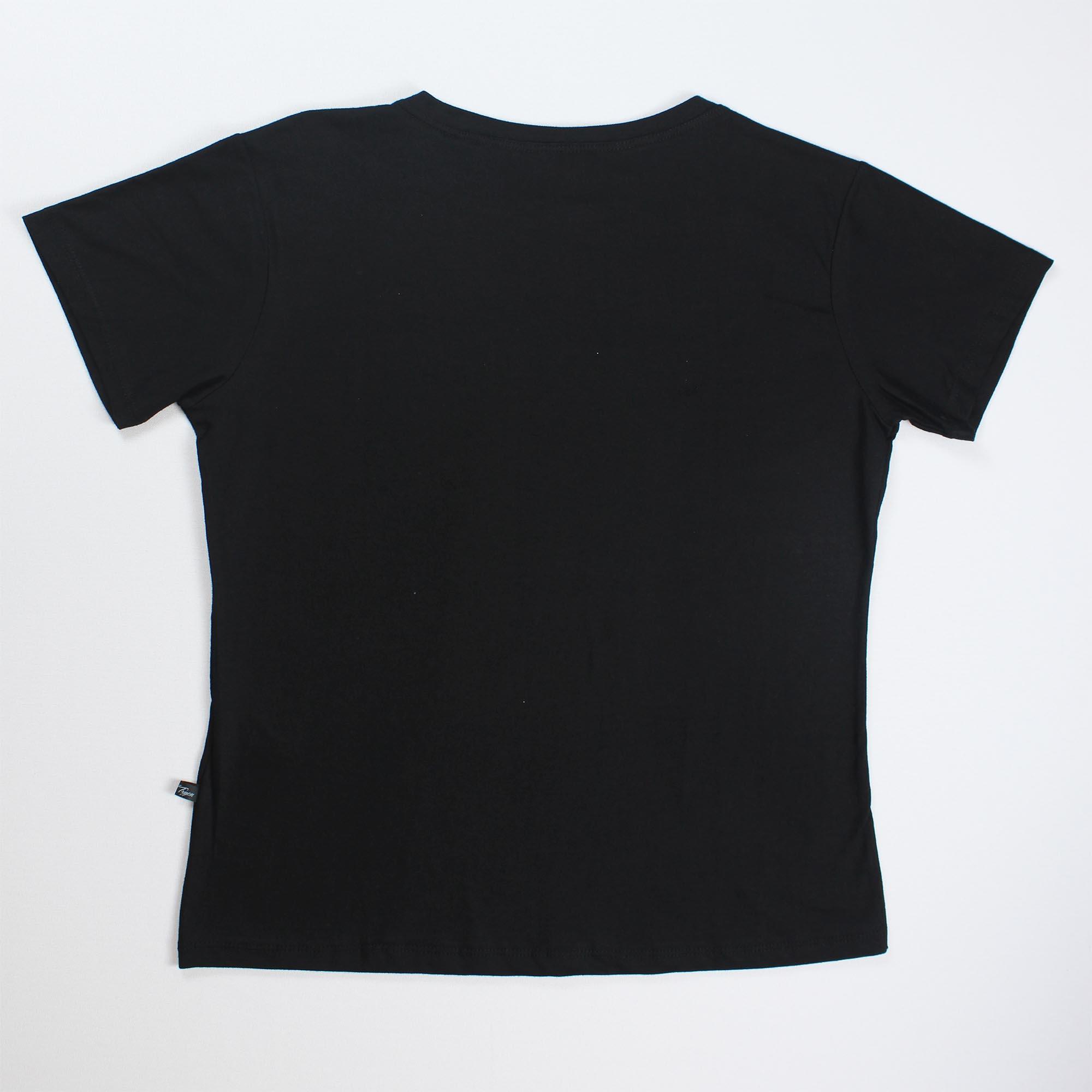 T-Shirt Hollywood Feminina - Preta