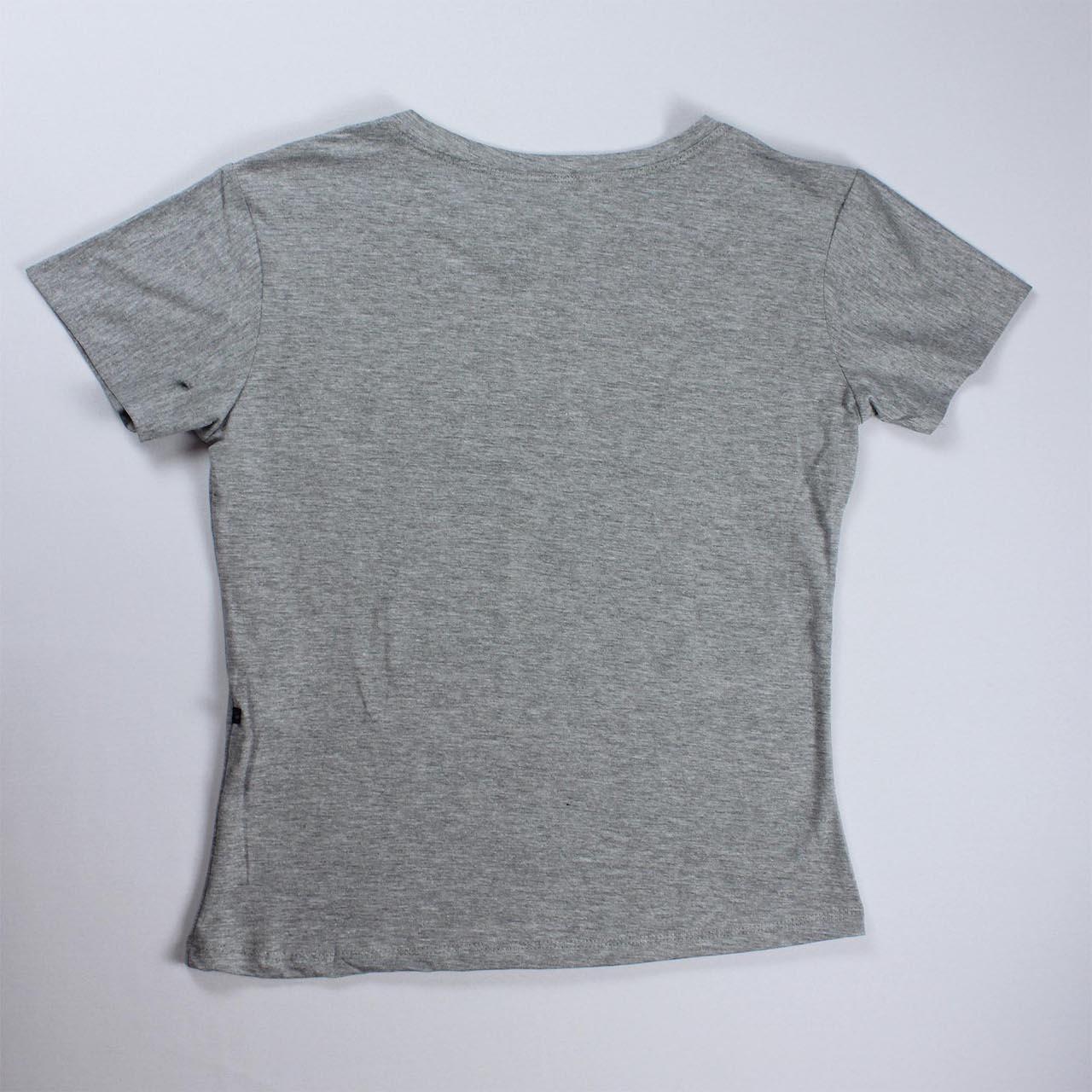 T-Shirt Lion Feminina - Cinza