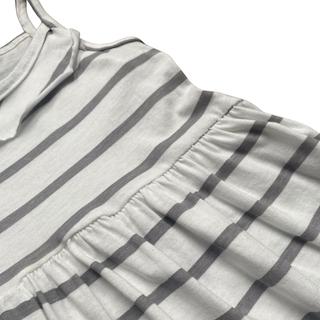 Vestido plissado com alça infantil menina - Tamanho 4 e 6
