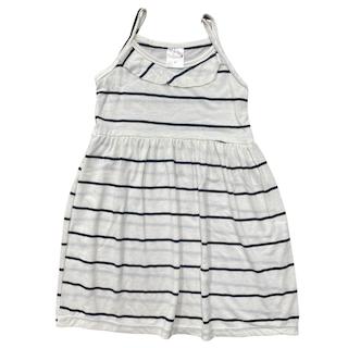 Vestido plissado com alça infantil menina - Tamanho 4 e 8