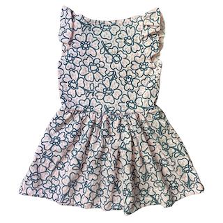Vestido plissado infantil menina - Tamanho 2 ao 8
