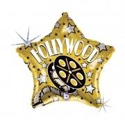 Balão de Hollywood - Estrela Holográfica 18