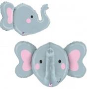 Balão Supershape Elefante 3D