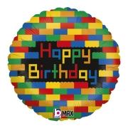 Birthday Blocks 18 - 01 Unidade