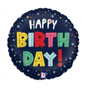 Birthday Estrelas Holográfico 18