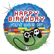 Gamer Controle Happy Birthday 18 - 01 unidade