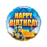 Happy Birthday Construction Truck - 01 unidade - 18