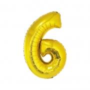 Número Dourado 40 Polegadas - 6 .Ean :8712364847956