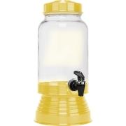Suqueira de Vidro 3,250L - Amarela