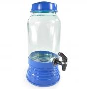 Suqueira de Vidro 3,250L - Azul Escuro